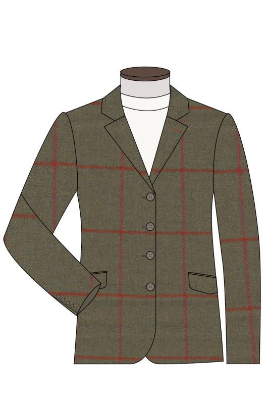 Classic Fit Jacket 4 Button Front edit 1