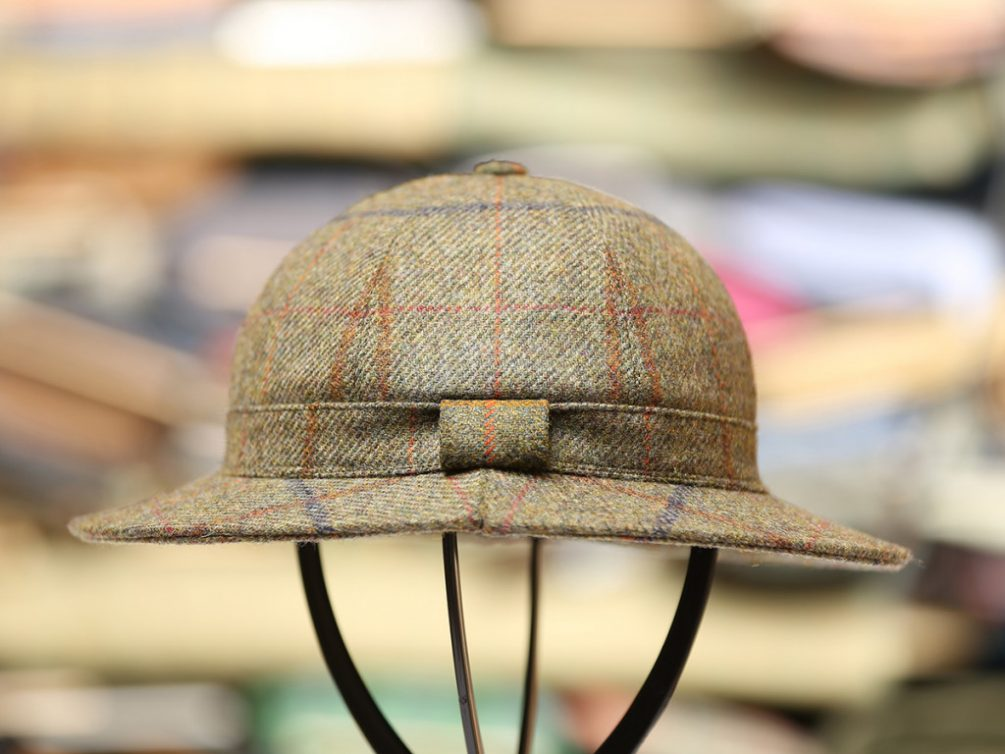 d8116cdd285 Stornoway Hat. The Stornoway Hat is the traditional Deerstalker ...