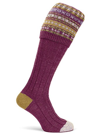 ladies-socks-fairisle-crimson_large